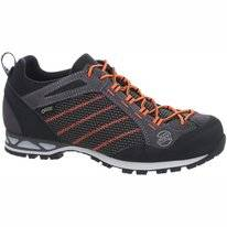 Wandelschoen Hanwag Makra Low GTX Asphalt/Orange