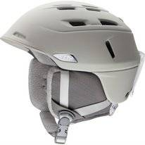 Skihelm Smith Compass Matte Ivory