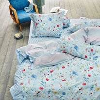 Taies d'oreiller PiP Studio Hummingbirds Blue Percale (50 x 75 cm)