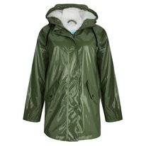 Regenjas Happy Rainy Days Rain Mac Padded Teddy Meta Moss