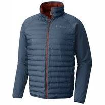 Jas Columbia Men Flash Forward Hybrid Blue Heron