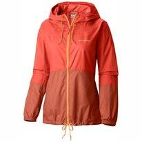 Jas Columbia Women Flash Forward Windbreaker Zing Tuscan
