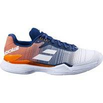Tennis Shoes Babolat Men Jet Mach II Clay White Pureed Pumpkin