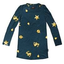 Robe à Manches Longues SNURK Kids Christmas Bling Blue