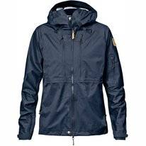 Jacket Fjällräven Womens Keb Eco-Shell Dark Navy