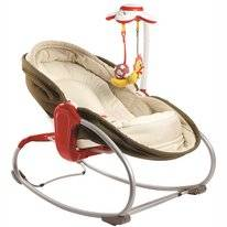 Kinderstoel Tiny Love 3 In 1 Rocker Napper Brown