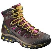 Wandelschoen Salomon Quest Origins 2 GTX W Pinot Noir Maize