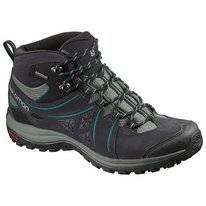 Wanderschuhe Salomon Ellipse 2 Mid Leather GTX Phantom Damen