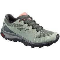 Wandelschoen Salomon Women Outline GTX Shadow Urban Chic Coral Almond