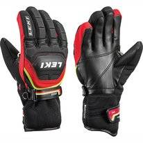 Gants Leki Worldcup Race Coach Flex S Junior RedITC Black