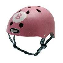 Helm Nutcase Little Nutty Pink 8 Glitter GEN2