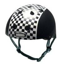 Helm Nutcase Little Nutty Checkerboard