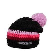 Muts Poederbaas Long Colourful Black Pink