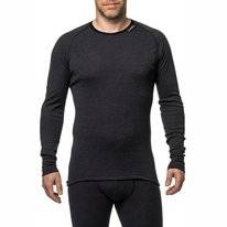 Long Sleeve Shirt Woolpower Unisex Crewneck Protection Lite Anthracite