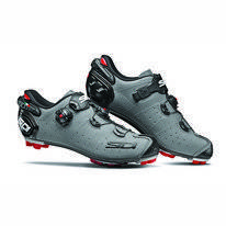 Mountainbikeschoen Sidi Men Drako 2 SRS Carbon Matt Grey Black