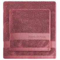 Gastendoek Marc O'Polo Melange Deep Rose Warm Red
