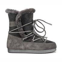 Moon Boot Far Side High Shearling Anthrazit Damen