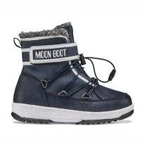 Moon Boot Junior Garçon Boot WP Blue Navy White