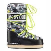 Moon Boot Enfant T-Rex Black Green