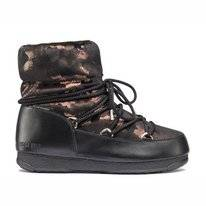 Moon Boot Low Camu WP Black Bronze