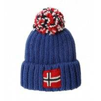 Bonnet Napapijri Youth Semiury 3 French blue (51 cm)