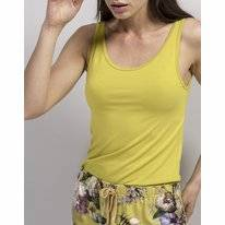 Top Essenza Noisa Uni Sleeveless Yellow