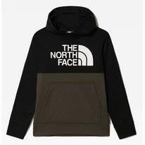 Hoodie The North Face Boys Surgent P/O Block New Taupe Green