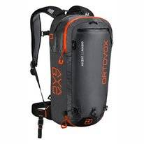 Skirucksack Ortovox Ascent 22 Avabag Black Anthracite (Inklusive Airbag)