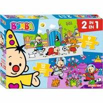 Puzzel Bumba 2in1 (12-delig)