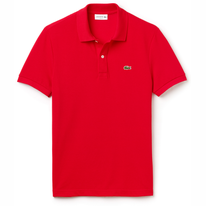 Polo Shirt Lacoste Slim Fit Rouge