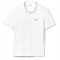 Polo Shirt Lacoste Slim Fit Stretch Pique Blanc
