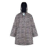 Poncho Happy Rainy Days Cape Mara Cheetah Midnight Ginger