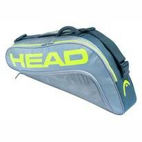 Tennistasche HEAD Tour Team Extreme 3R Pro Grey Neon Yellow 2020