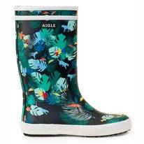 Bottes de Pluie Aigle Kids Lolly Pop Theme Safari Kids