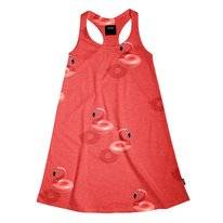 Tank Dress SNURK Kids Floating Flamingo