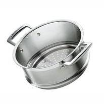 Steam Insert Le Creuset Magnetik Stainless Steel 20 cm