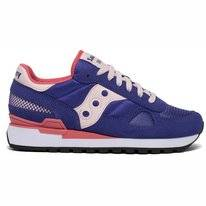 Saucony Women Shadow Original Blue Pink