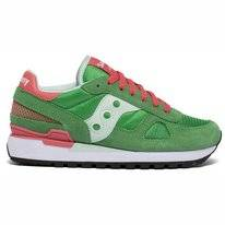 Saucony Women Shadow Original Green Blue Coral