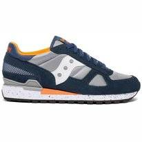 Saucony Men Shadow Original Blue Grey Orange