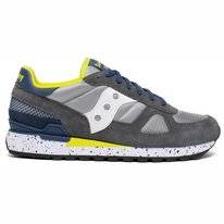 Saucony Men Shadow Original Grey Blue Yellow