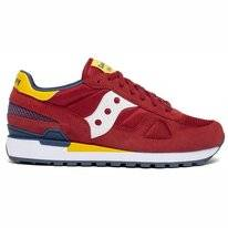 Saucony Men Shadow Original Red Yellow Blue