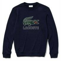 Jumper Lacoste Men SH6382 Logo Navy Blue