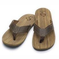Slipper Sinner Canggu Brown Wood