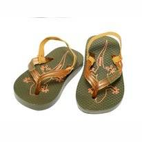 Slipper Sinner Kids Torres Moss Green
