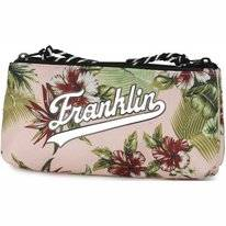 Etui Franklin & Marshall Round Flower Pink