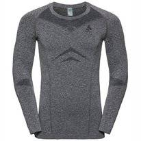 Ondershirt Odlo Men Crew Neck Longsleeve Performance Light Grey