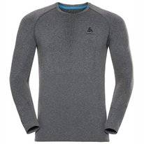 Ondershirt Odlo Men Crew Neck Longsleeve Performance Warm Grey