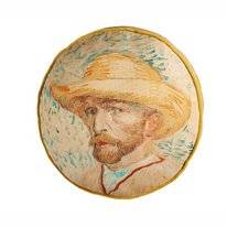 Sierkussen Beddinghouse x Van Gogh Museum Self Portrait Naturel (40 x 40 cm)