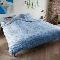 Bettwäsche SNURK Twirre Ice Blue Flannel