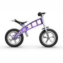 Loopfiets FirstBike Street Violet With Brake